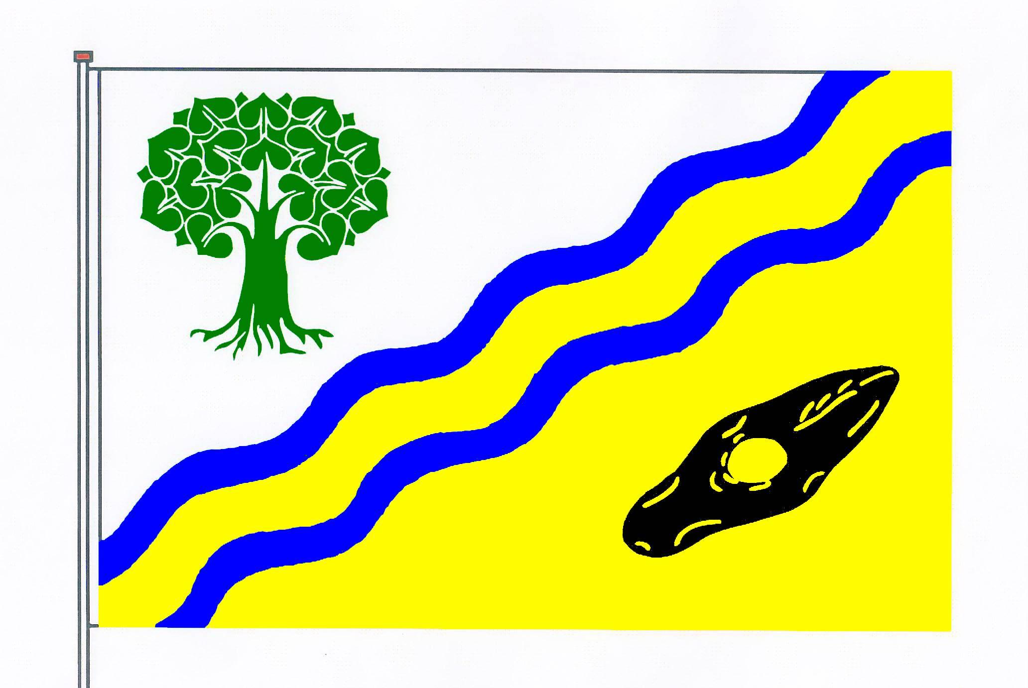 Flagge GemeindeSollwitt, Kreis Nordfriesland