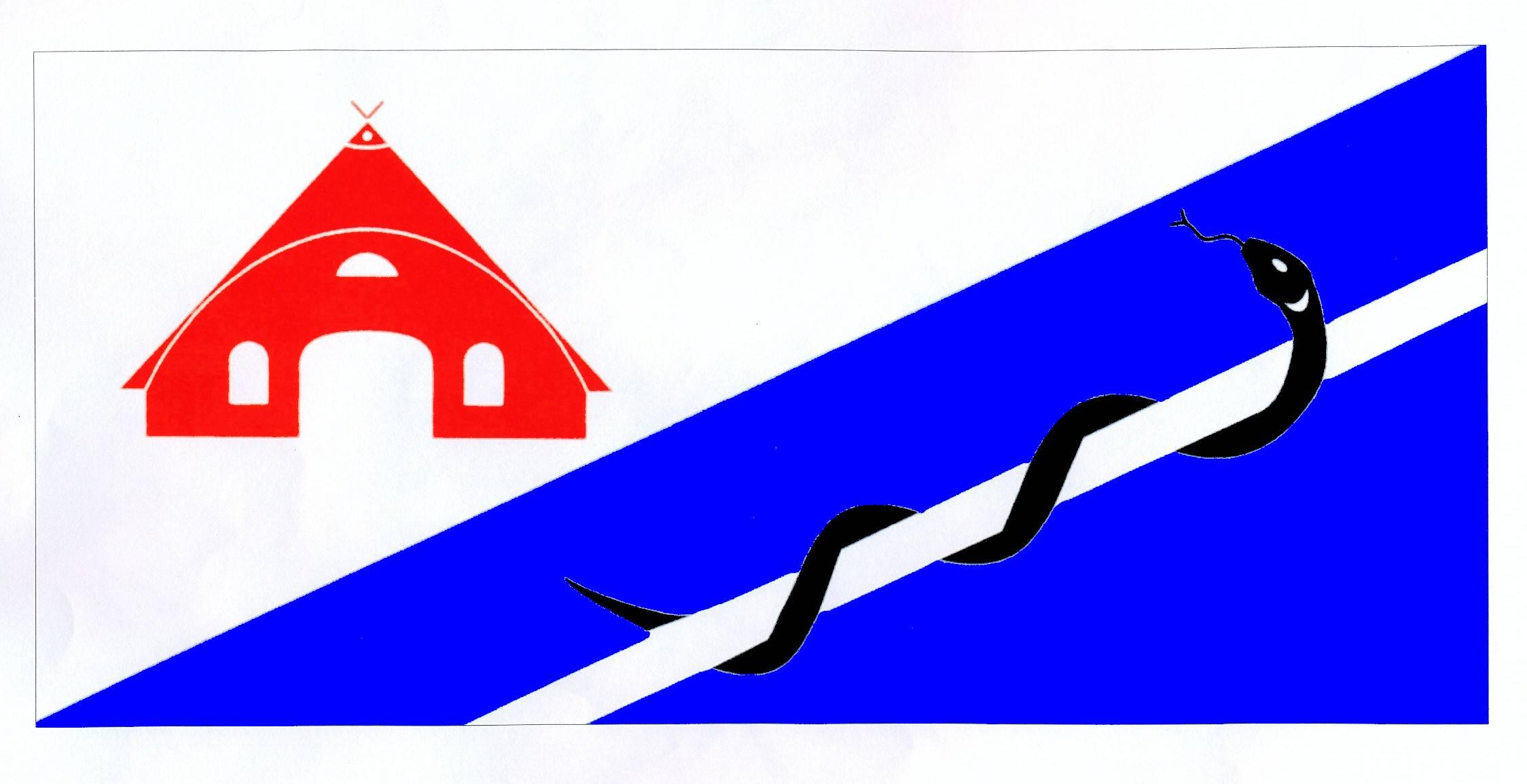 Flagge GemeindeStakendorf, Kreis Plön