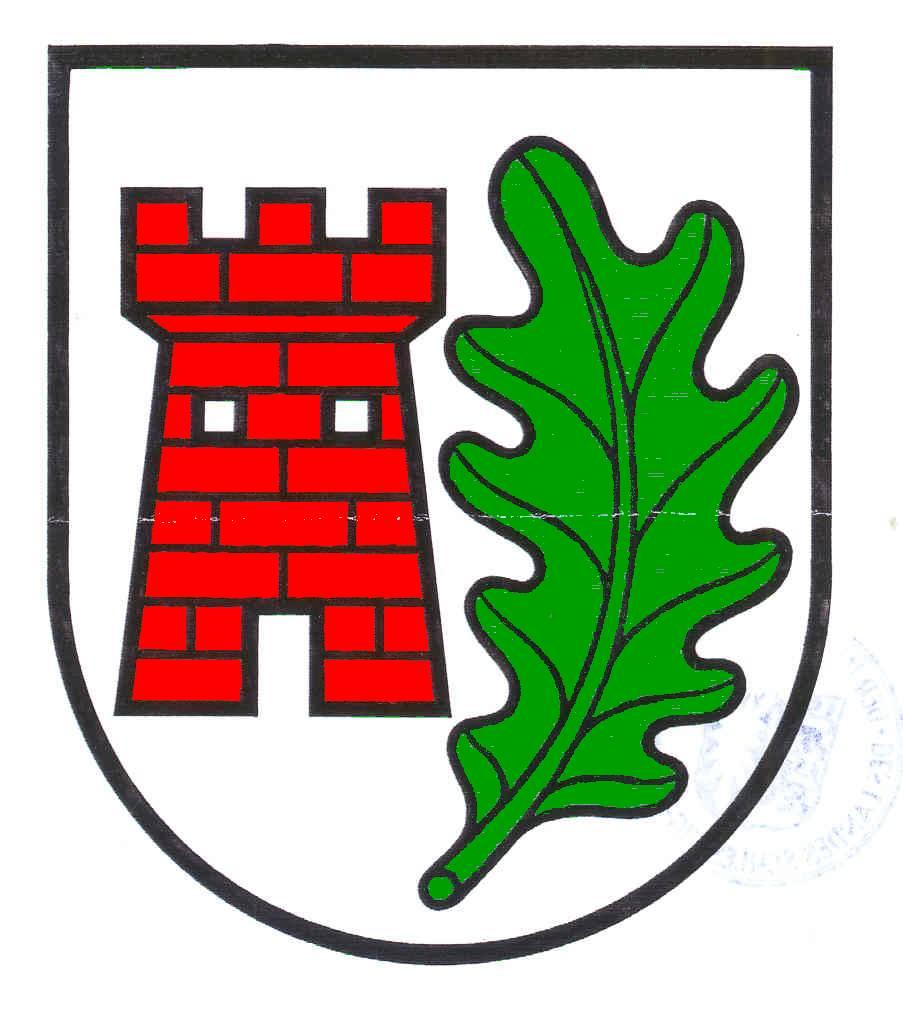 Wappen GemeindeSteinburg, Kreis Stormarn