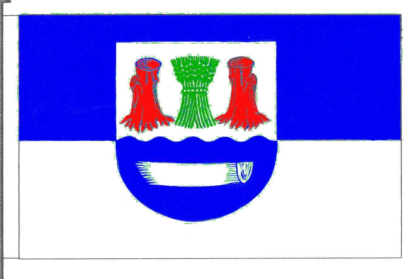 Flagge GemeindeStocksee, Kreis Segeberg