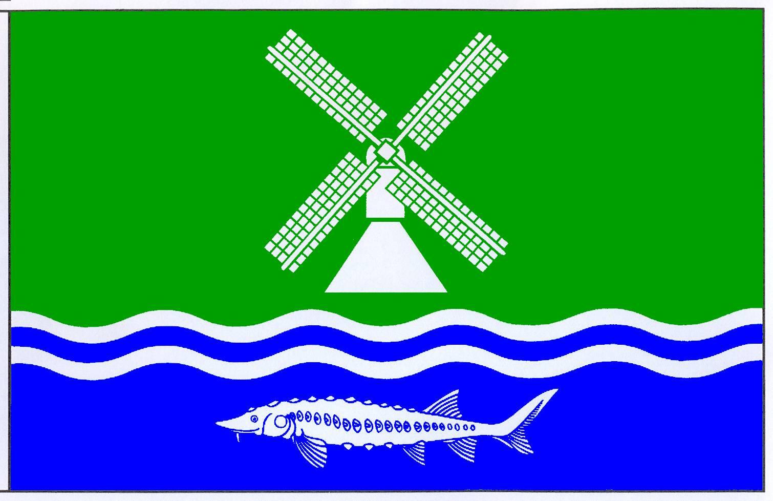 Flagge GemeindeStördorf, Kreis Steinburg