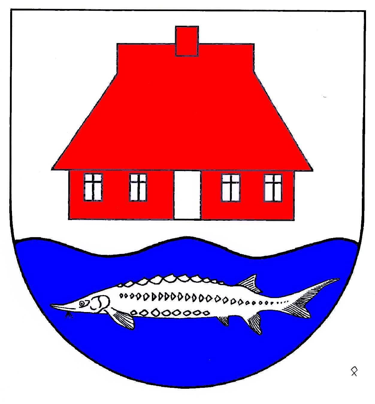 Wappen GemeindeStörkathen, Kreis Steinburg