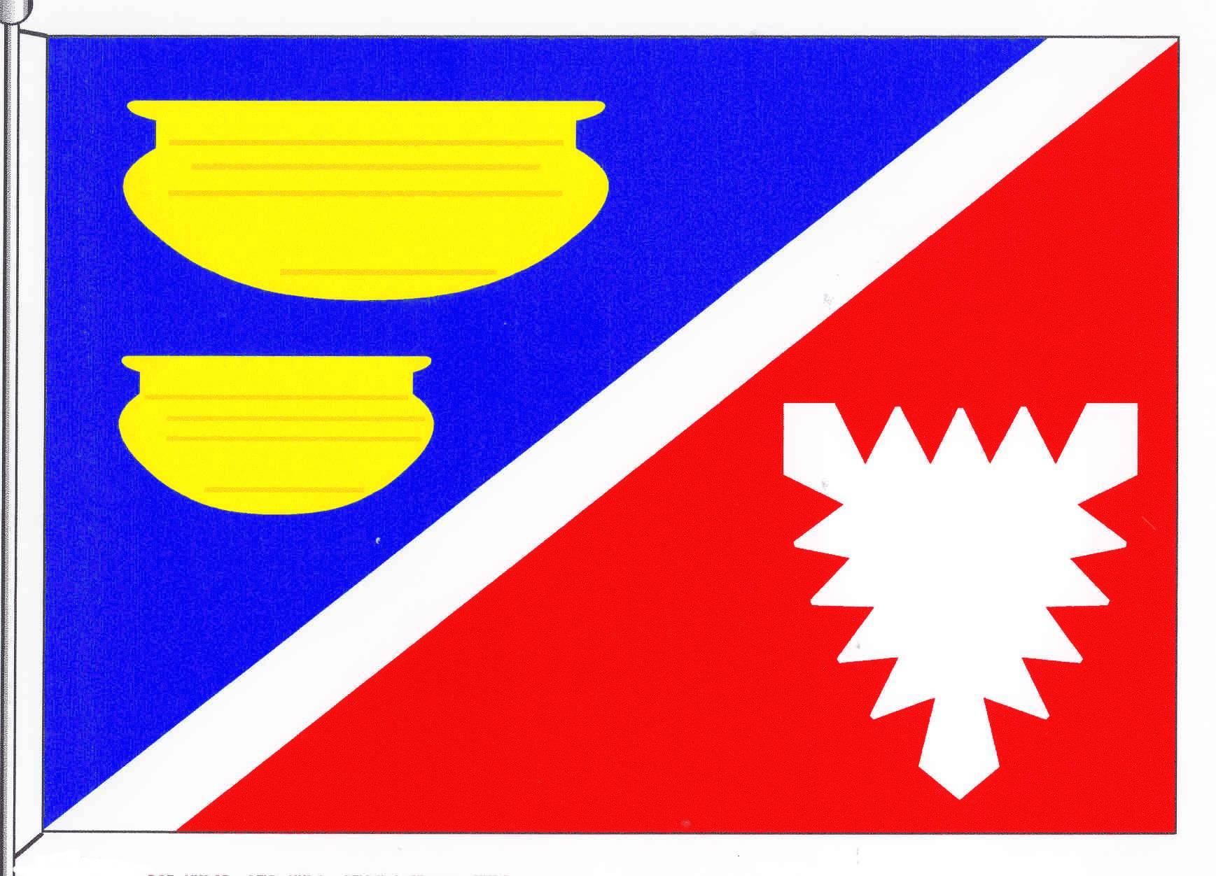 Flagge GemeindeStolpe, Kreis Plön