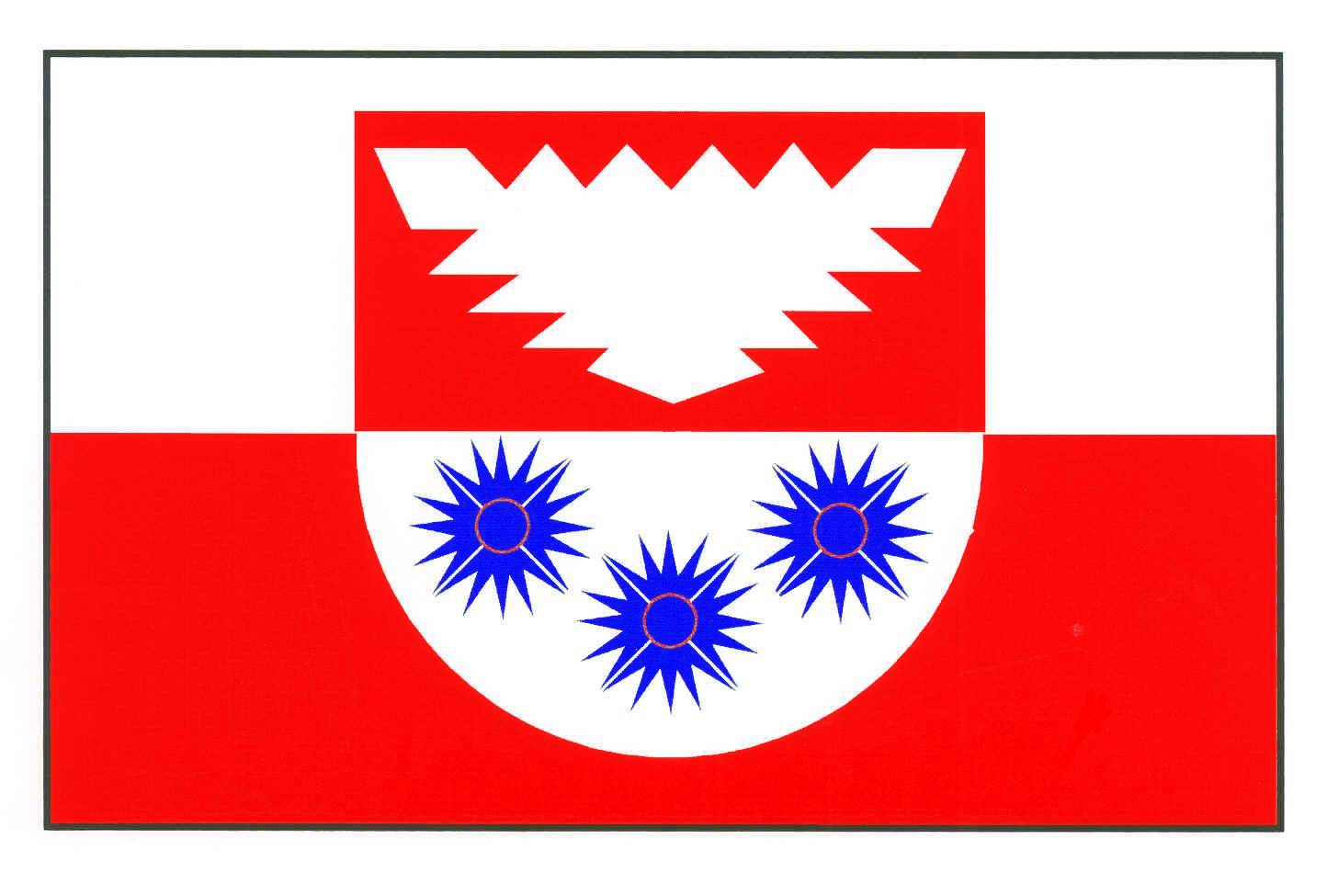 Flagge GemeindeStoltenberg, Kreis Plön