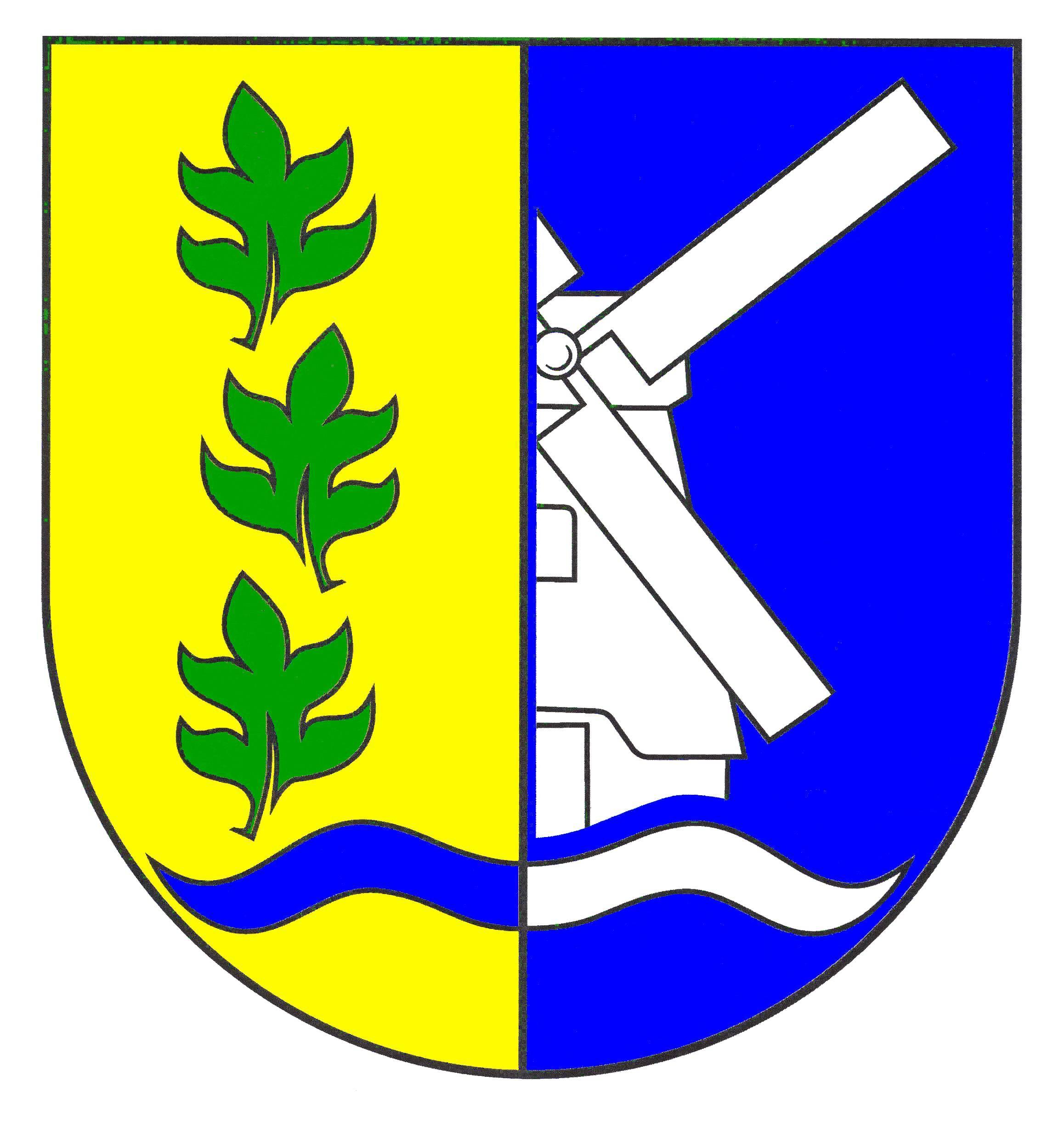 Wappen GemeindeStruckum, Kreis Nordfriesland