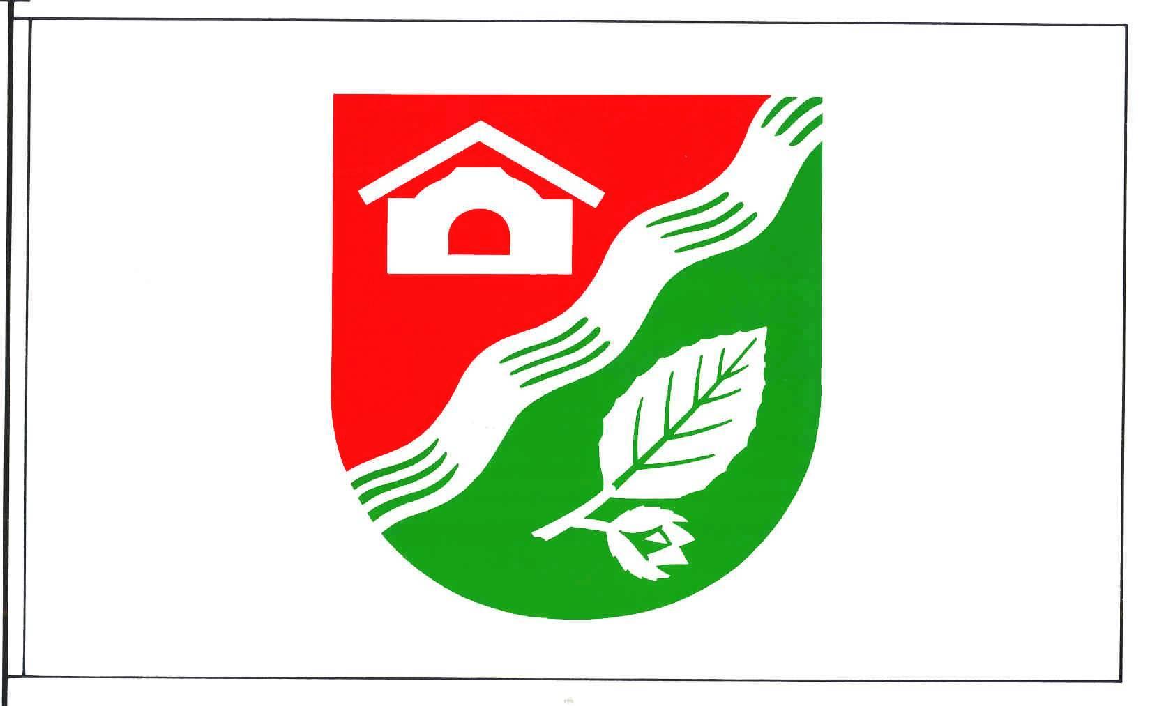 Flagge GemeindeStruvenhütten, Kreis Segeberg