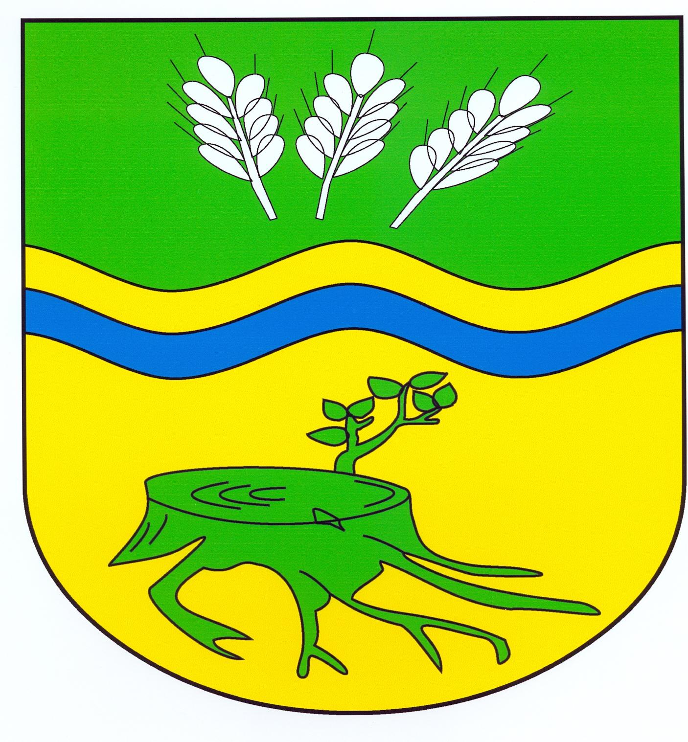 Wappen GemeindeStubben, Kreis Herzogtum Lauenburg
