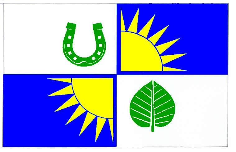 Flagge GemeindeSüderdorf, Kreis Dithmarschen