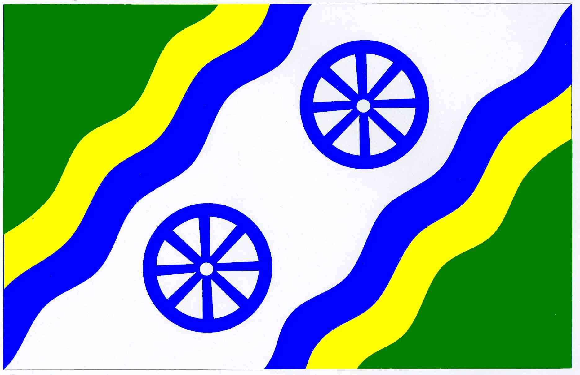 Flagge GemeindeSüderfahrenstedt, Kreis Schleswig-Flensburg