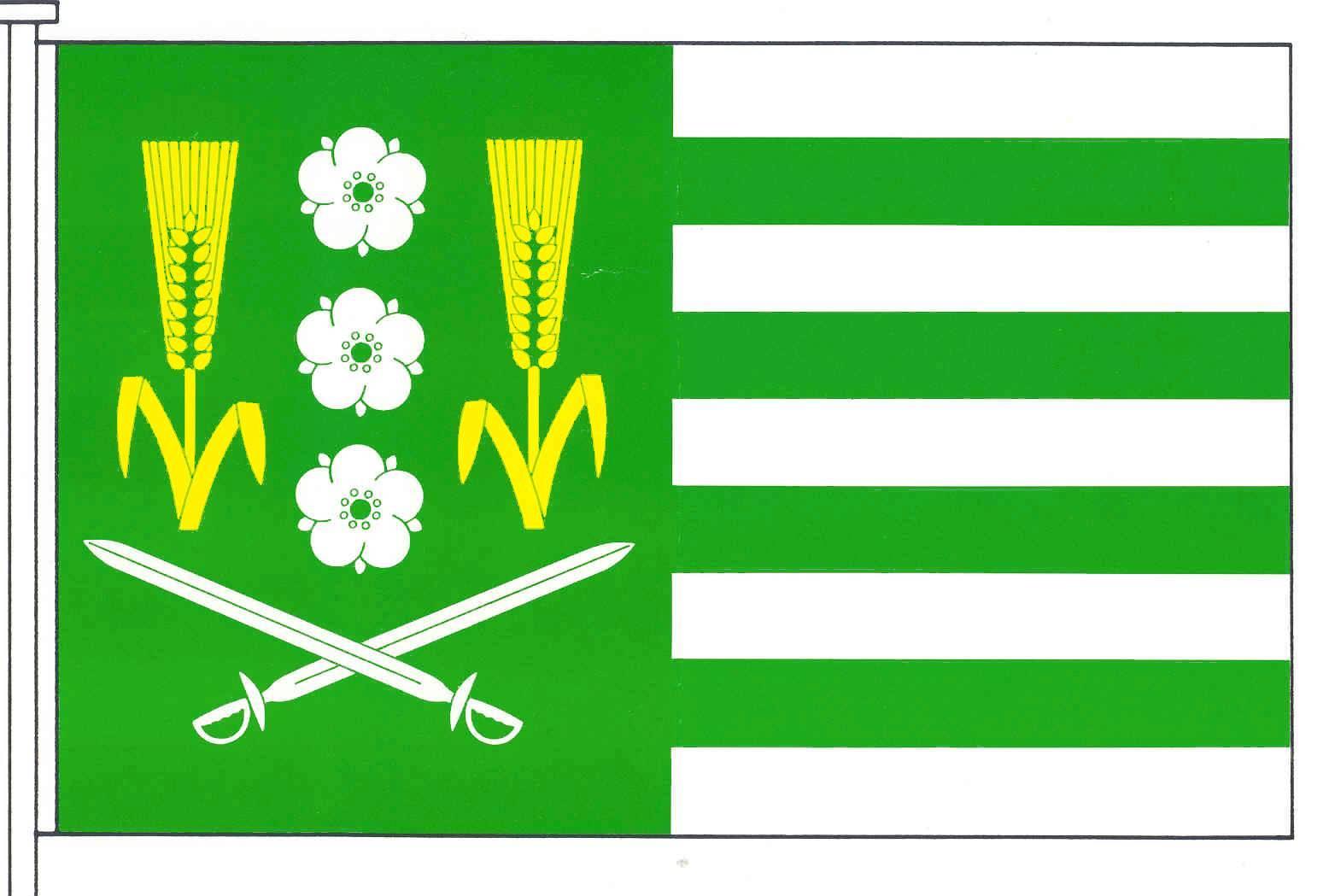 Flagge GemeindeSüderhastedt, Kreis Dithmarschen