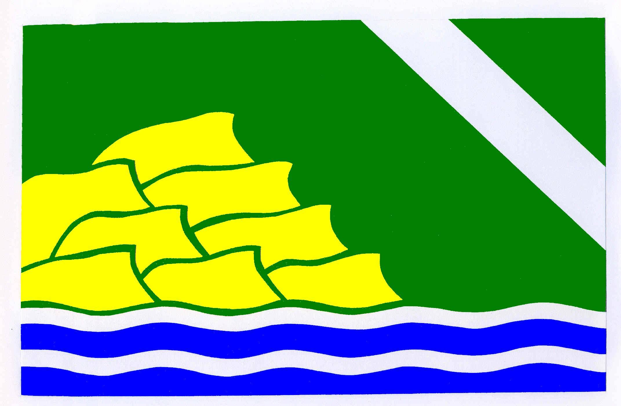 Flagge GemeindeSüderlügum, Kreis Nordfriesland