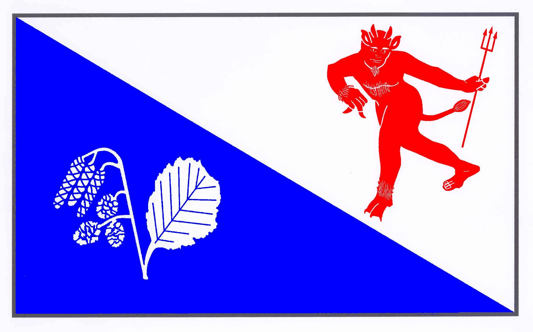 Flagge GemeindeTalkau, Kreis Herzogtum Lauenburg