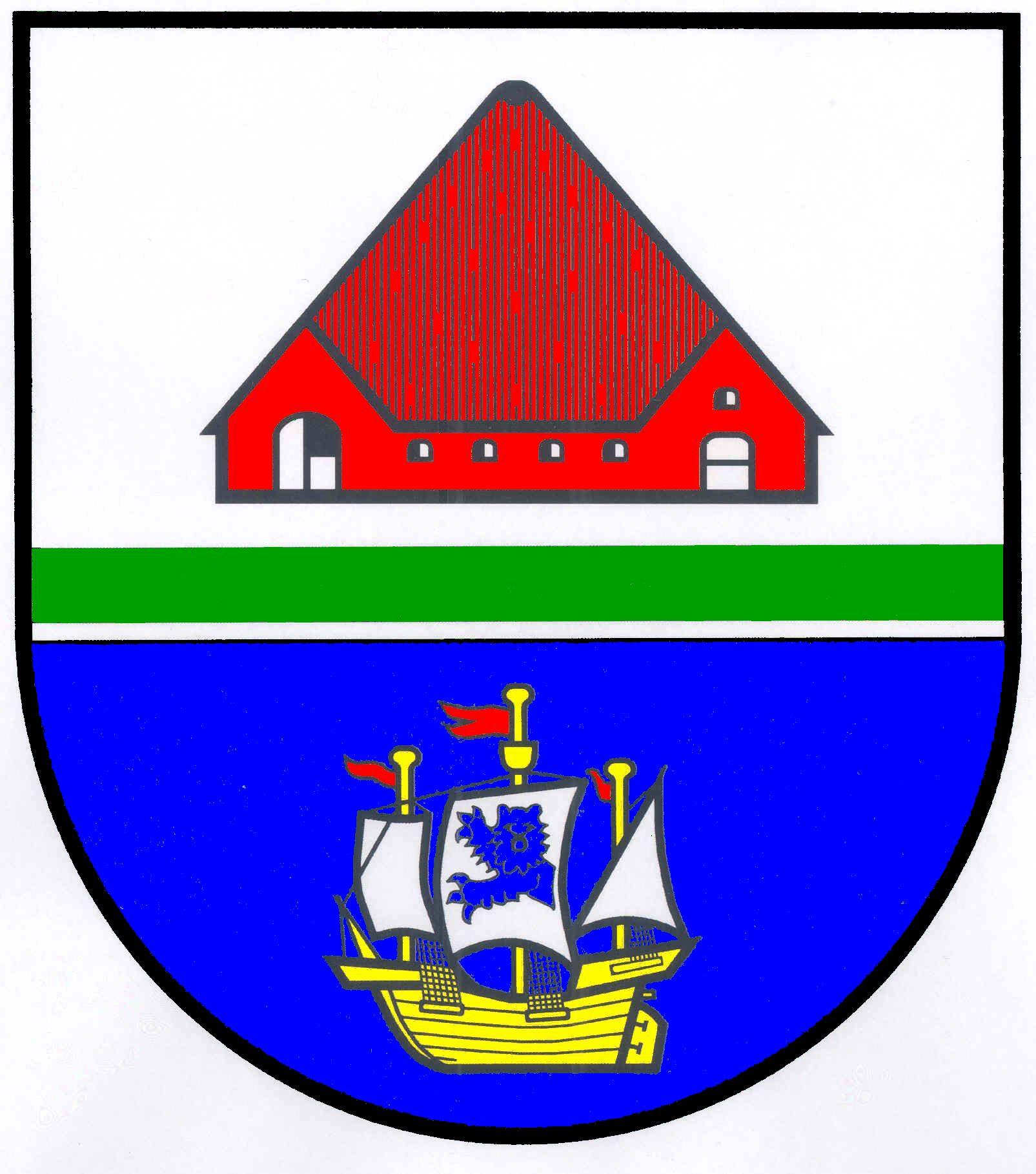 Wappen GemeindeTating, Kreis Nordfriesland