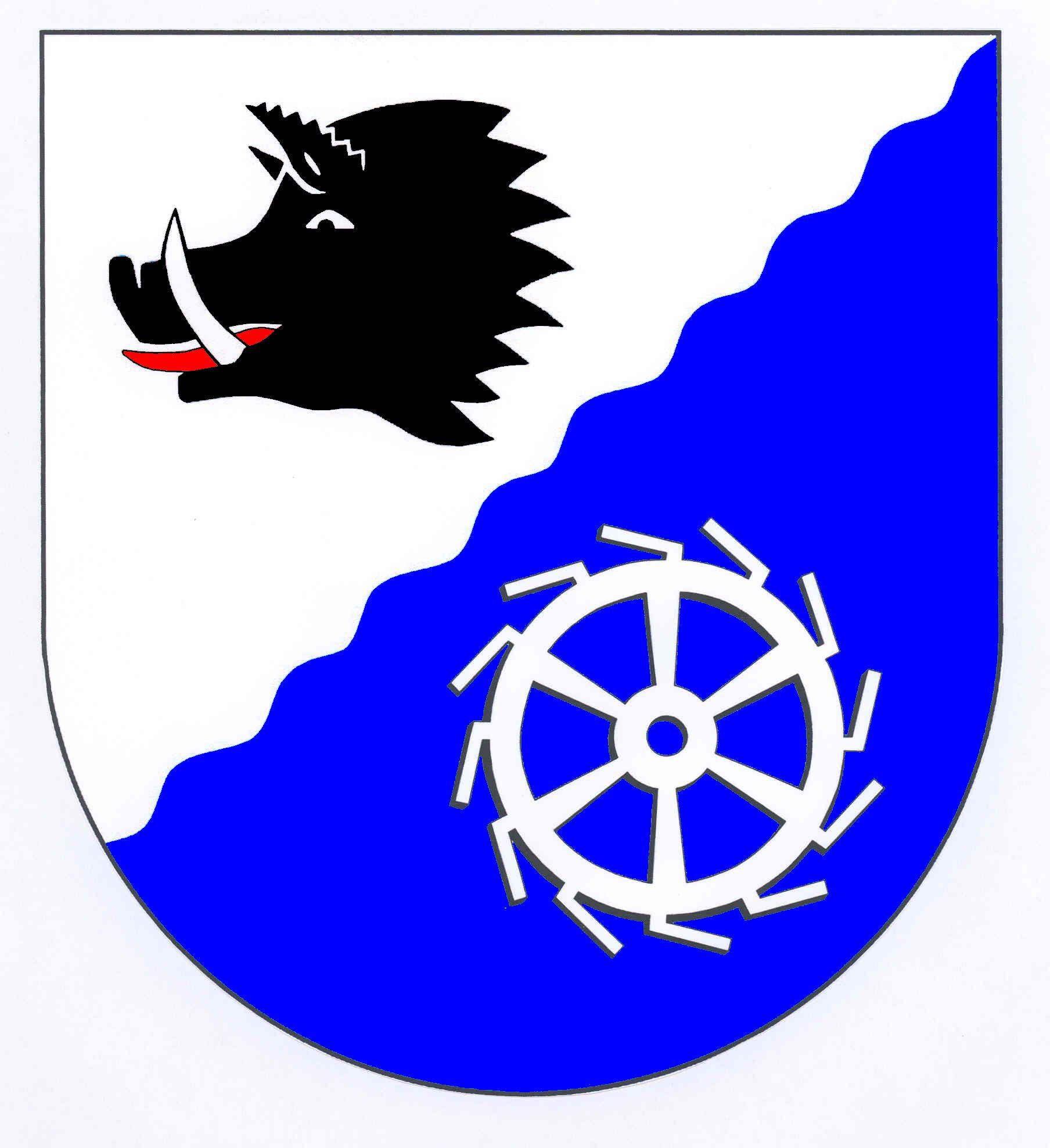 Wappen GemeindeTechelsdorf, Kreis Rendsburg-Eckernförde