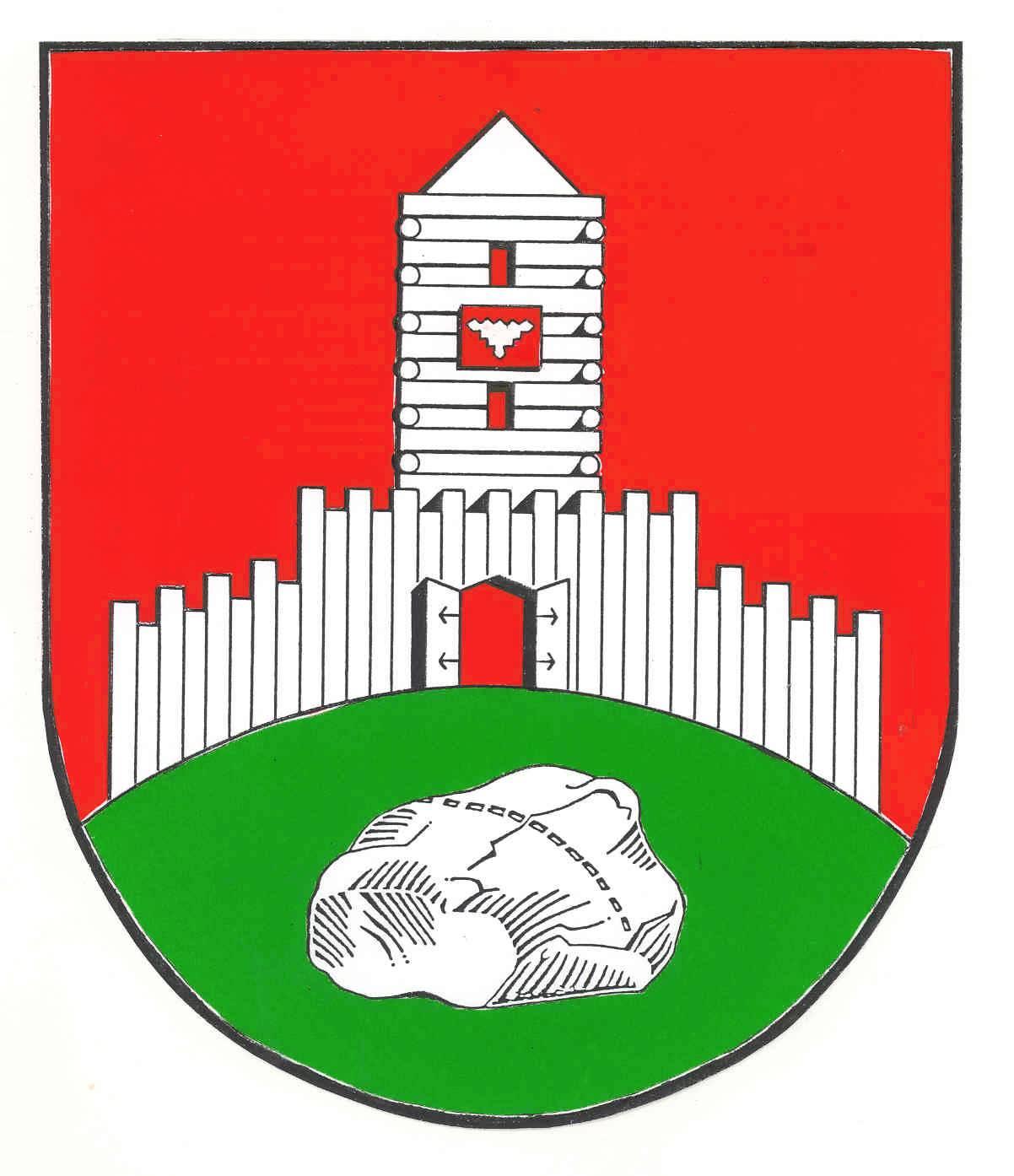 Wappen GemeindeTensbüttel-Röst, Kreis Dithmarschen