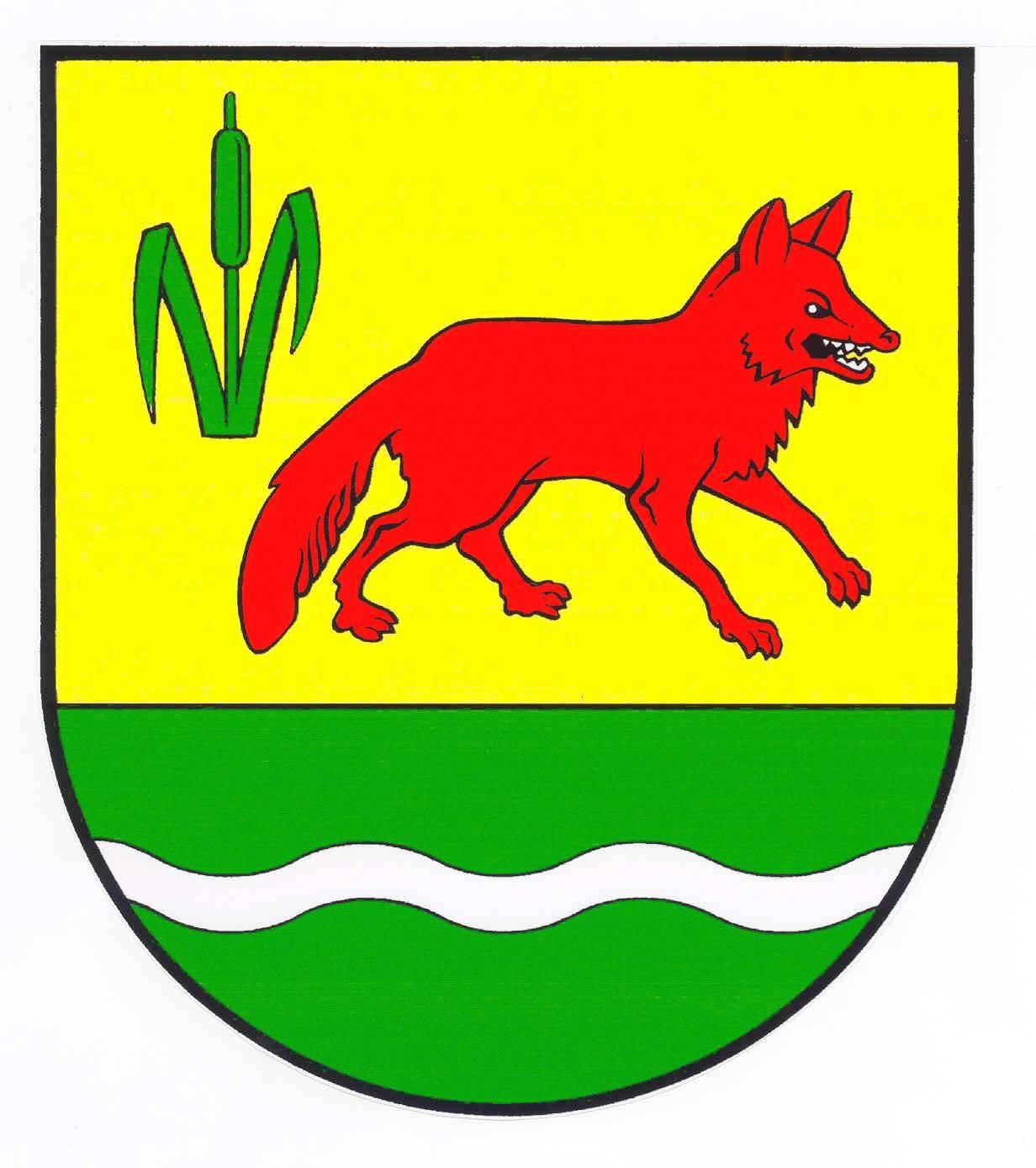 Wappen GemeindeTetenhusen, Kreis Schleswig-Flensburg