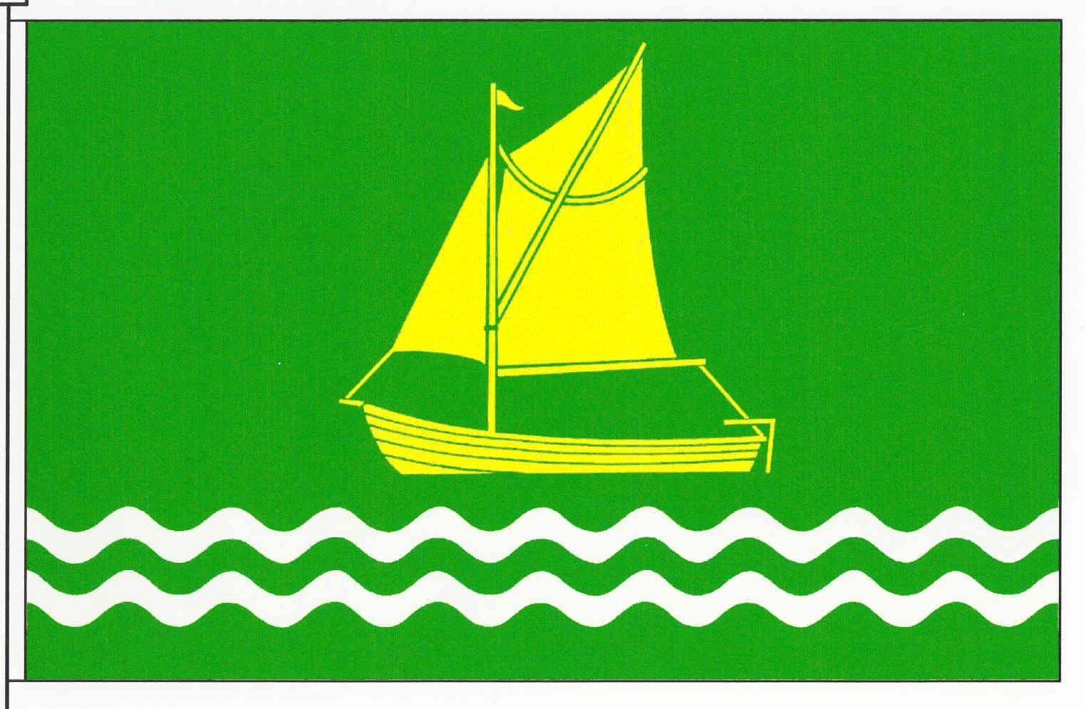 Flagge GemeindeTielen, Kreis Schleswig-Flensburg