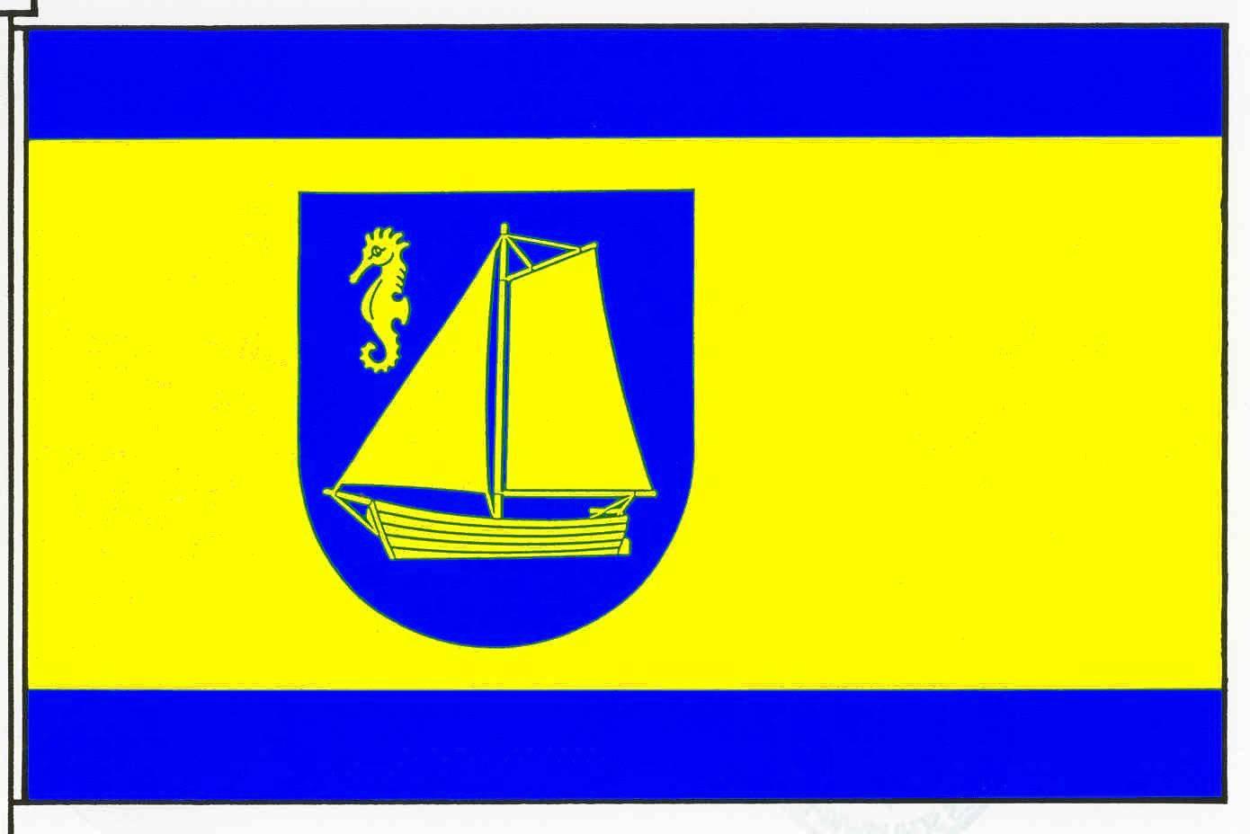 Flagge GemeindeTimmendorfer Strand, Kreis Ostholstein