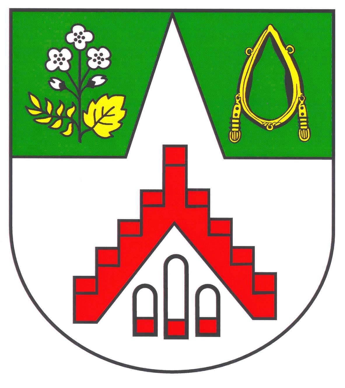 Wappen GemeindeTodesfelde, Kreis Segeberg