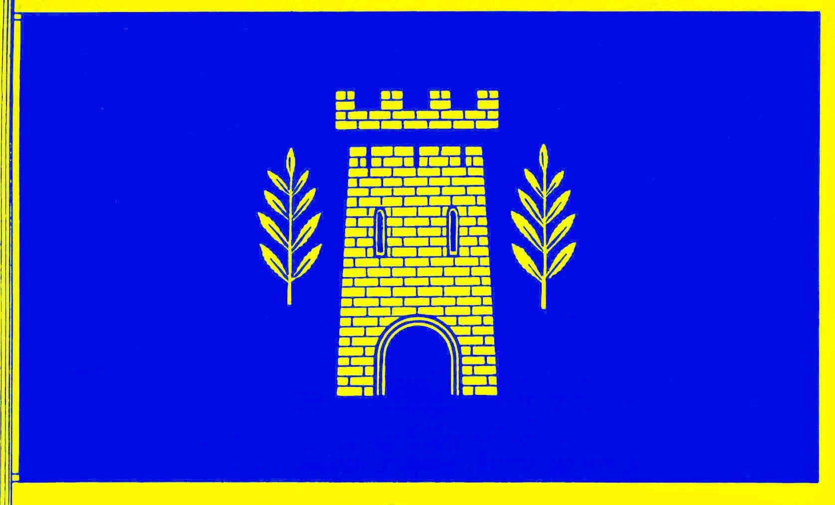 Flagge StadtTornesch, Kreis Pinneberg