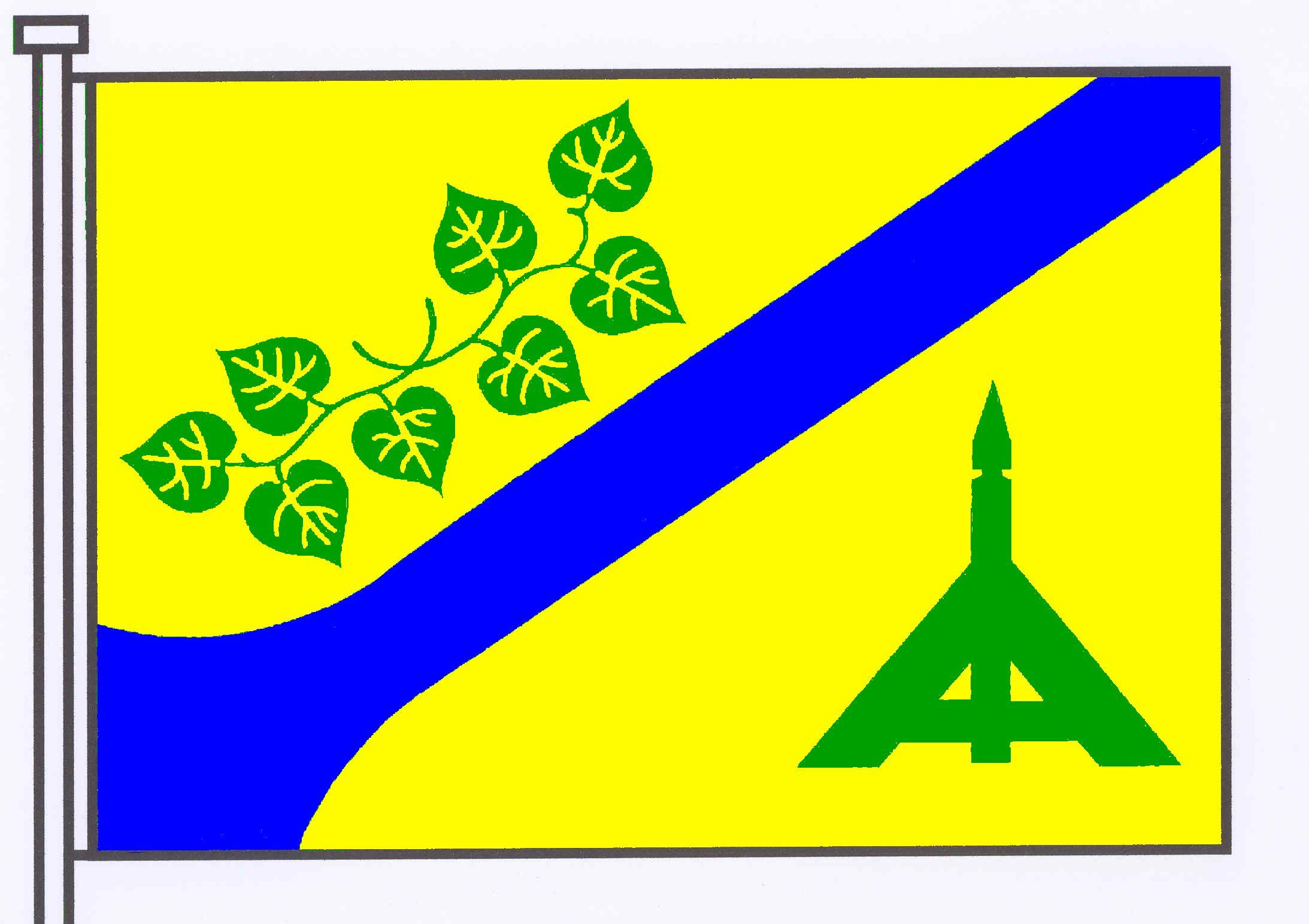 Flagge GemeindeTramm, Kreis Herzogtum Lauenburg