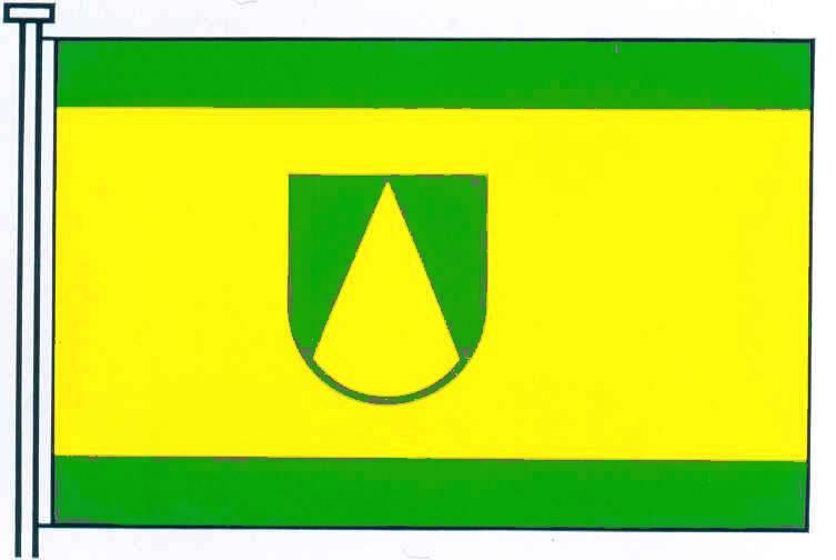 Flagge GemeindeTrappenkamp, Kreis Segeberg