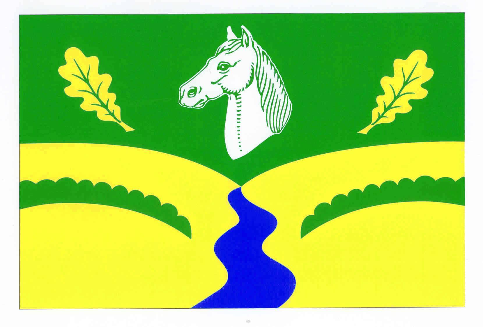 Flagge GemeindeTraventhal, Kreis Segeberg