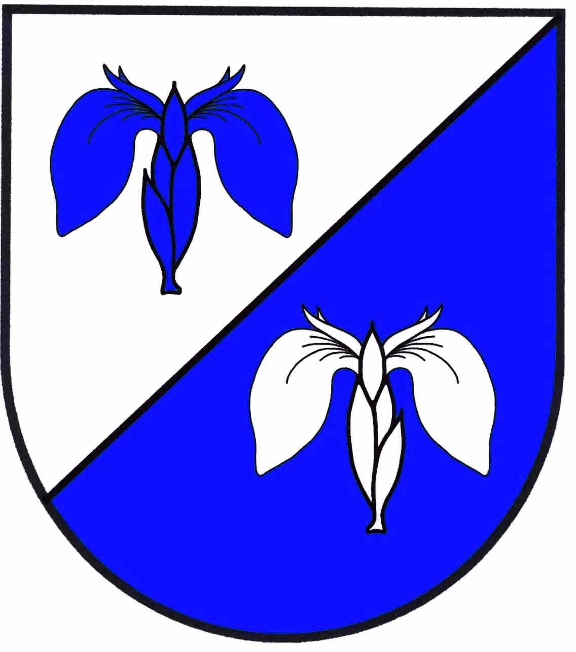 Wappen GemeindeTröndel, Kreis Plön