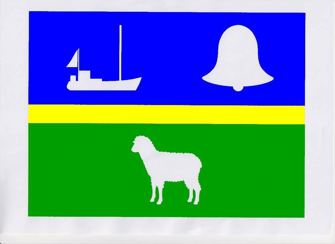 Flagge GemeindeTümlauer Koog, Kreis Nordfriesland