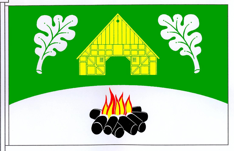 Flagge GemeindeTüttendorf, Kreis Rendsburg-Eckernförde