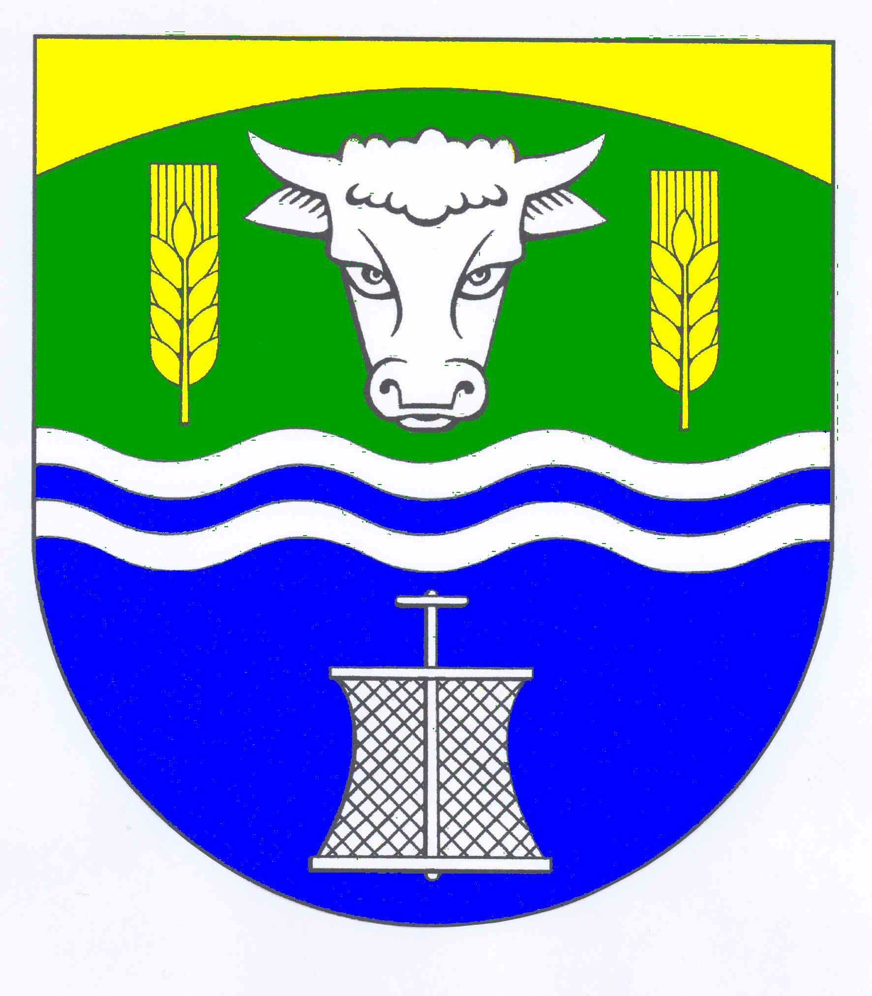 Wappen GemeindeUelvesbüll, Kreis Nordfriesland