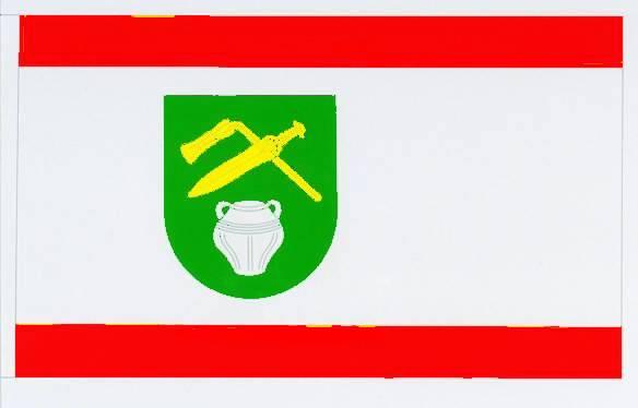Flagge GemeindeVaale, Kreis Steinburg