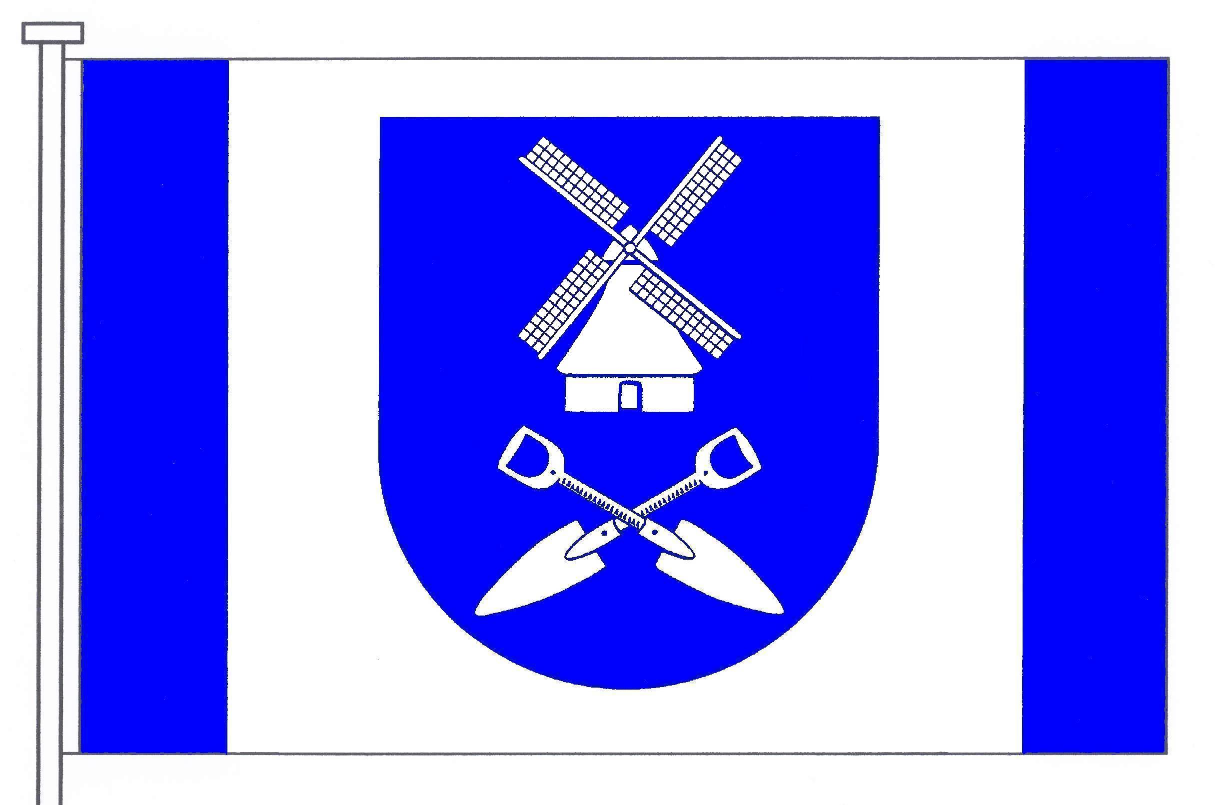 Flagge GemeindeVaalermoor, Kreis Steinburg