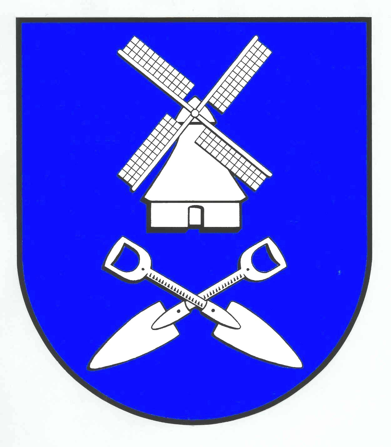 Wappen GemeindeVaalermoor, Kreis Steinburg