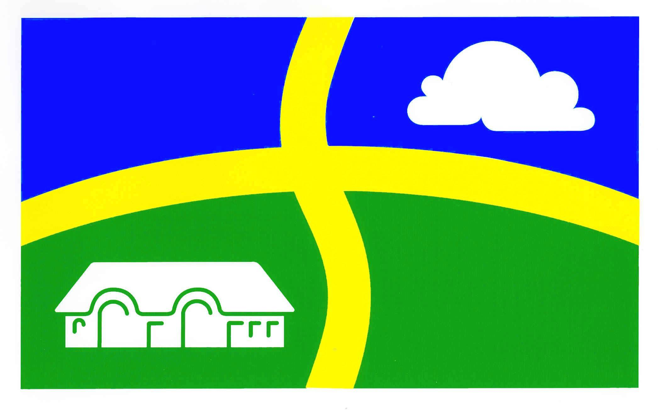 Flagge GemeindeVollstedt, Kreis Nordfriesland