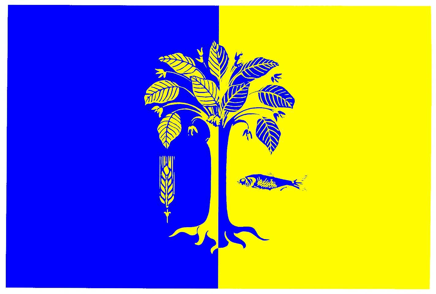 Flagge GemeindeWaabs, Kreis Rendsburg-Eckernförde