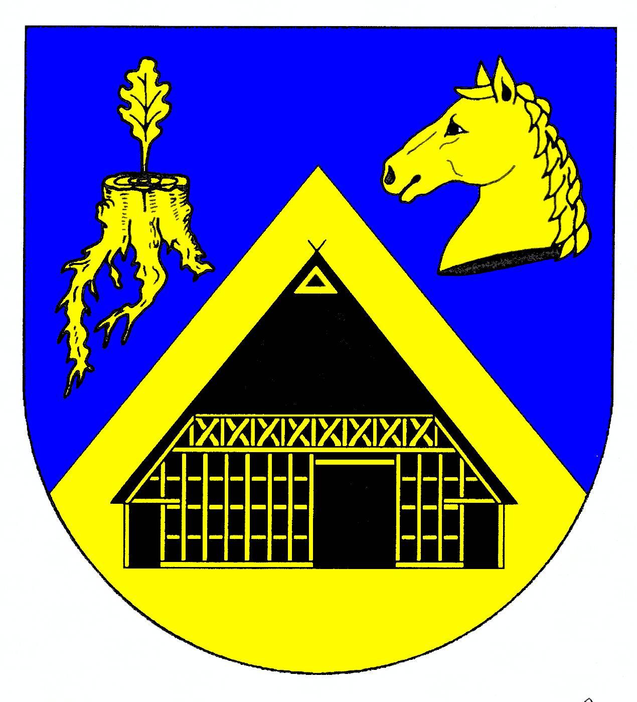 Wappen GemeindeWaggersrott, Kreis Schleswig-Flensburg