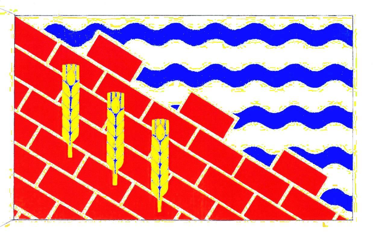 Flagge GemeindeWahlstorf, Kreis Plön
