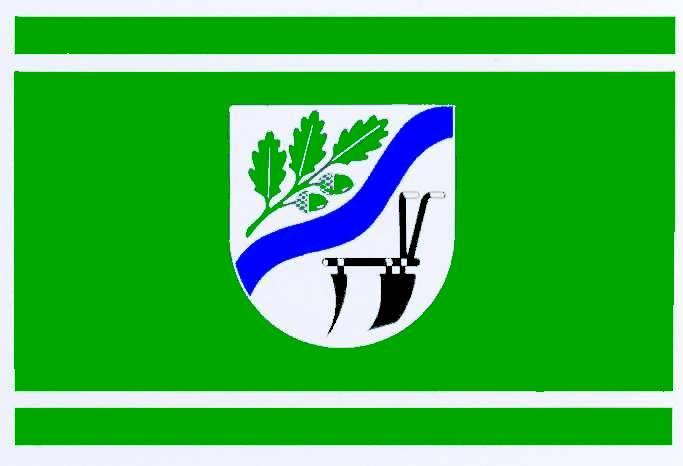 Flagge GemeindeWallsbüll, Kreis Schleswig-Flensburg
