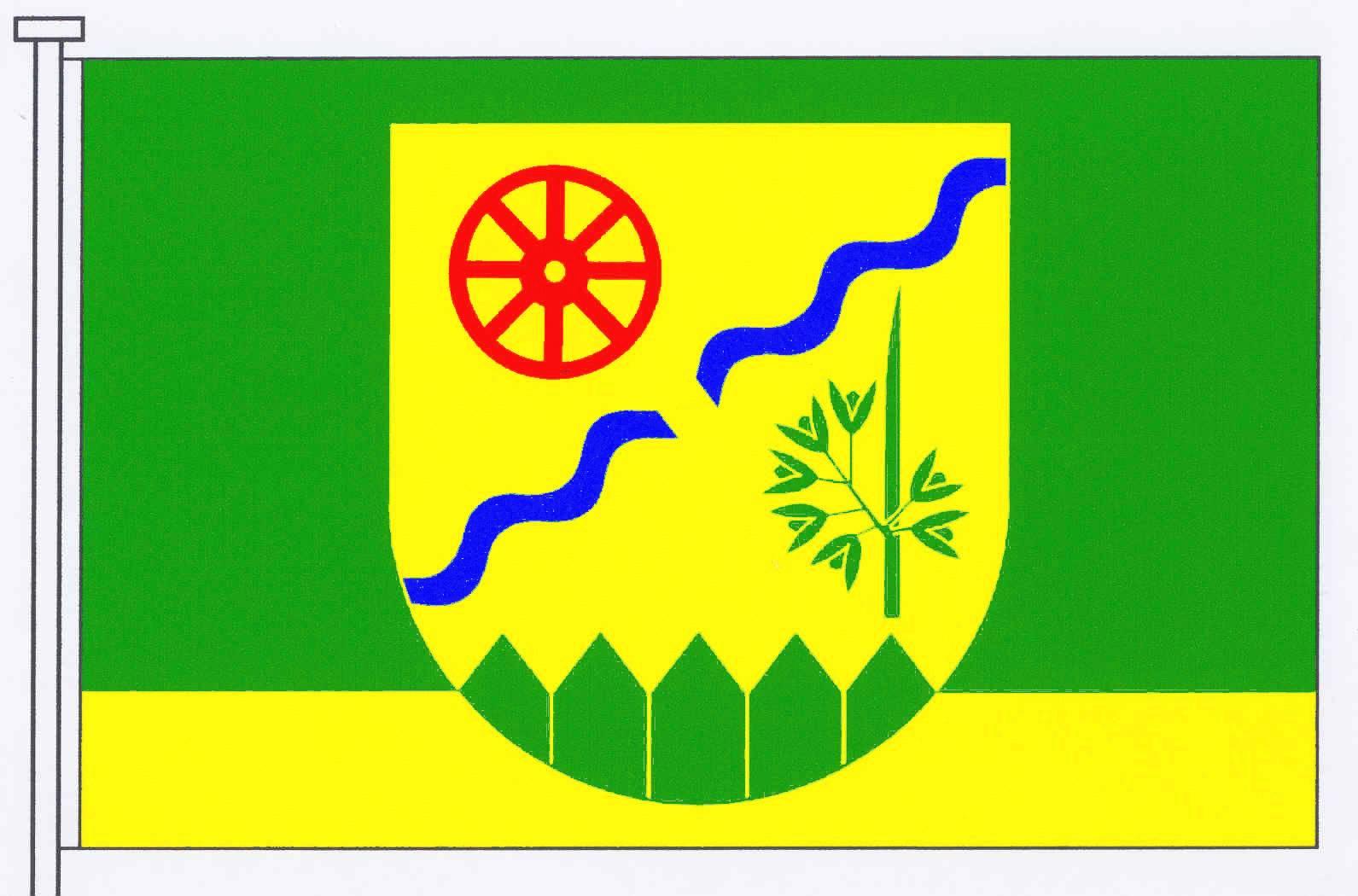 Flagge GemeindeWapelfeld, Kreis Rendsburg-Eckernförde