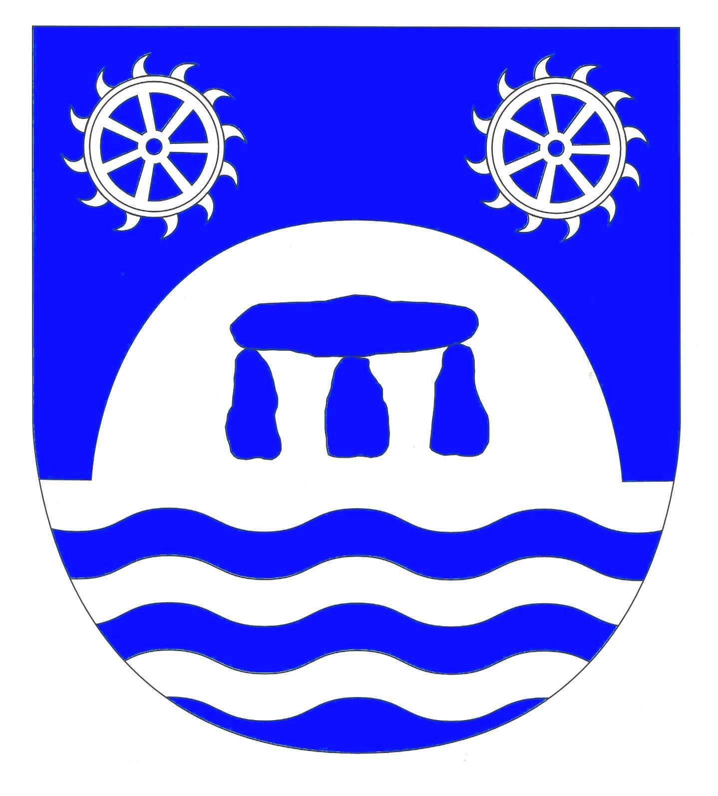 Wappen GemeindeWarder, Kreis Rendsburg-Eckernförde