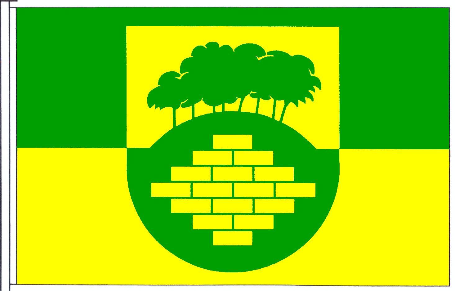 Flagge GemeindeWarringholz, Kreis Steinburg