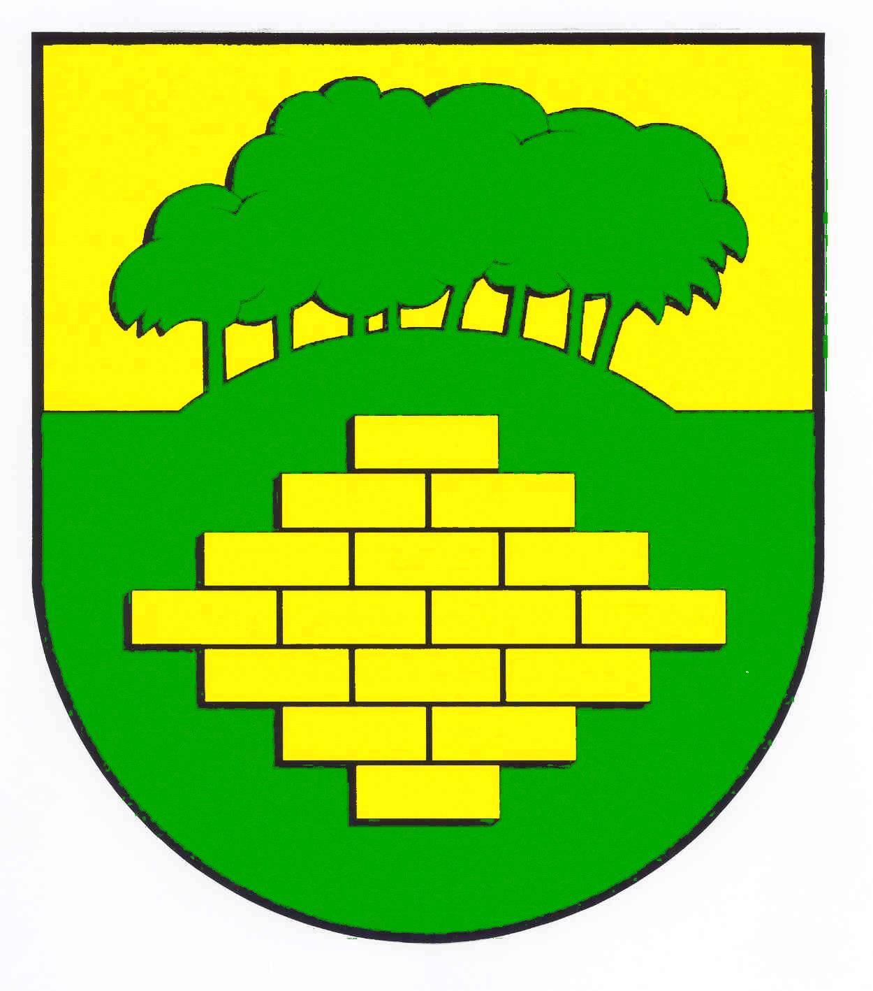 Wappen GemeindeWarringholz, Kreis Steinburg