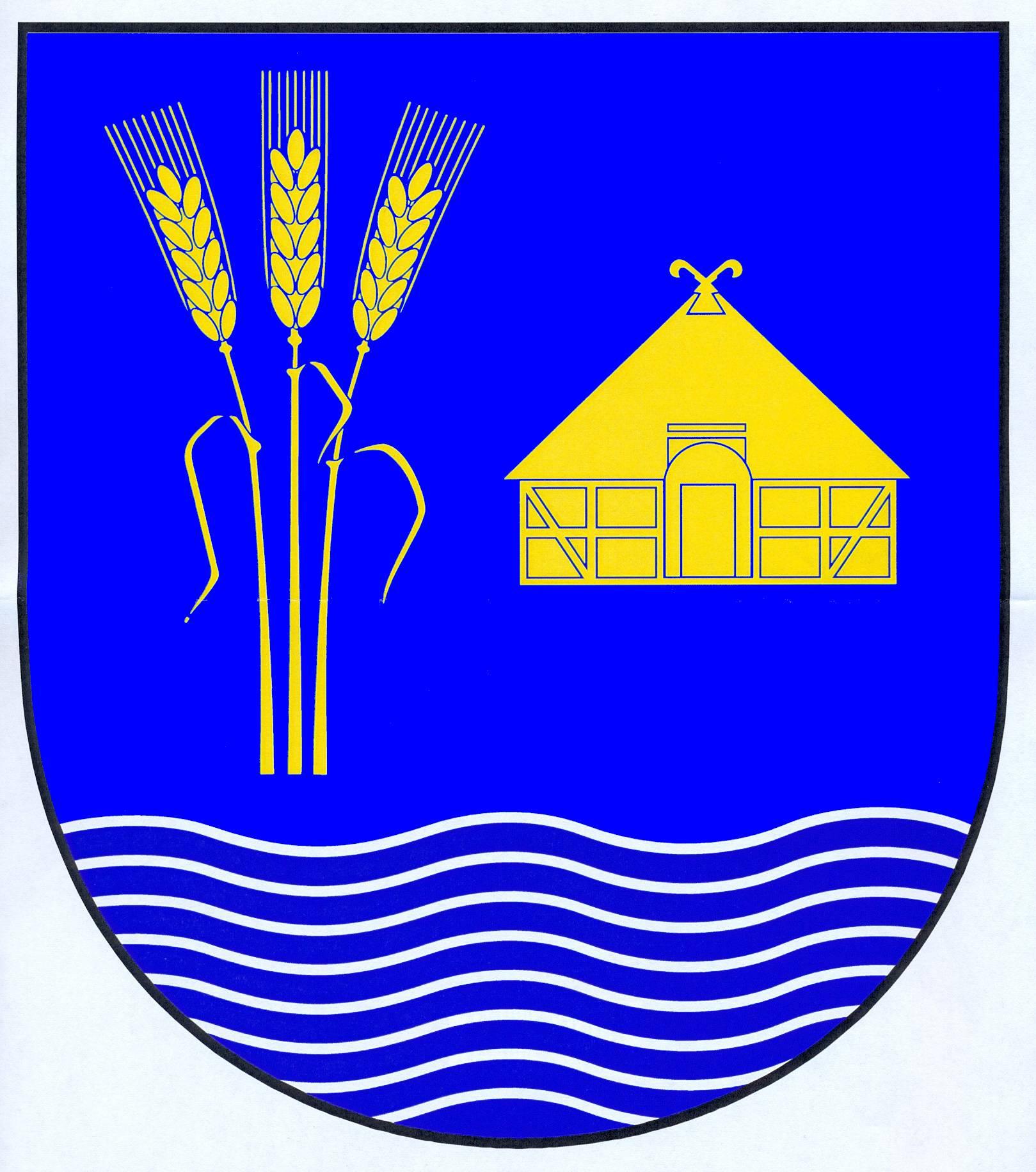 Wappen GemeindeWarwerort, Kreis Dithmarschen