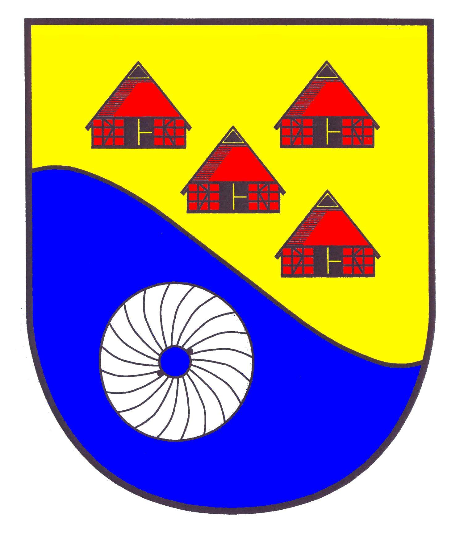 Wappen GemeindeWeddelbrook, Kreis Segeberg