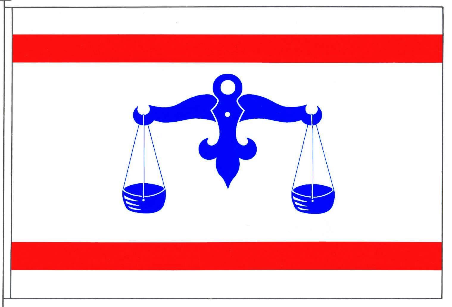 Flagge GemeindeWeddingstedt, Kreis Dithmarschen