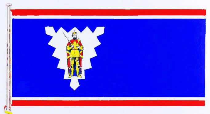 Flagge StadtWedel, Kreis Pinneberg