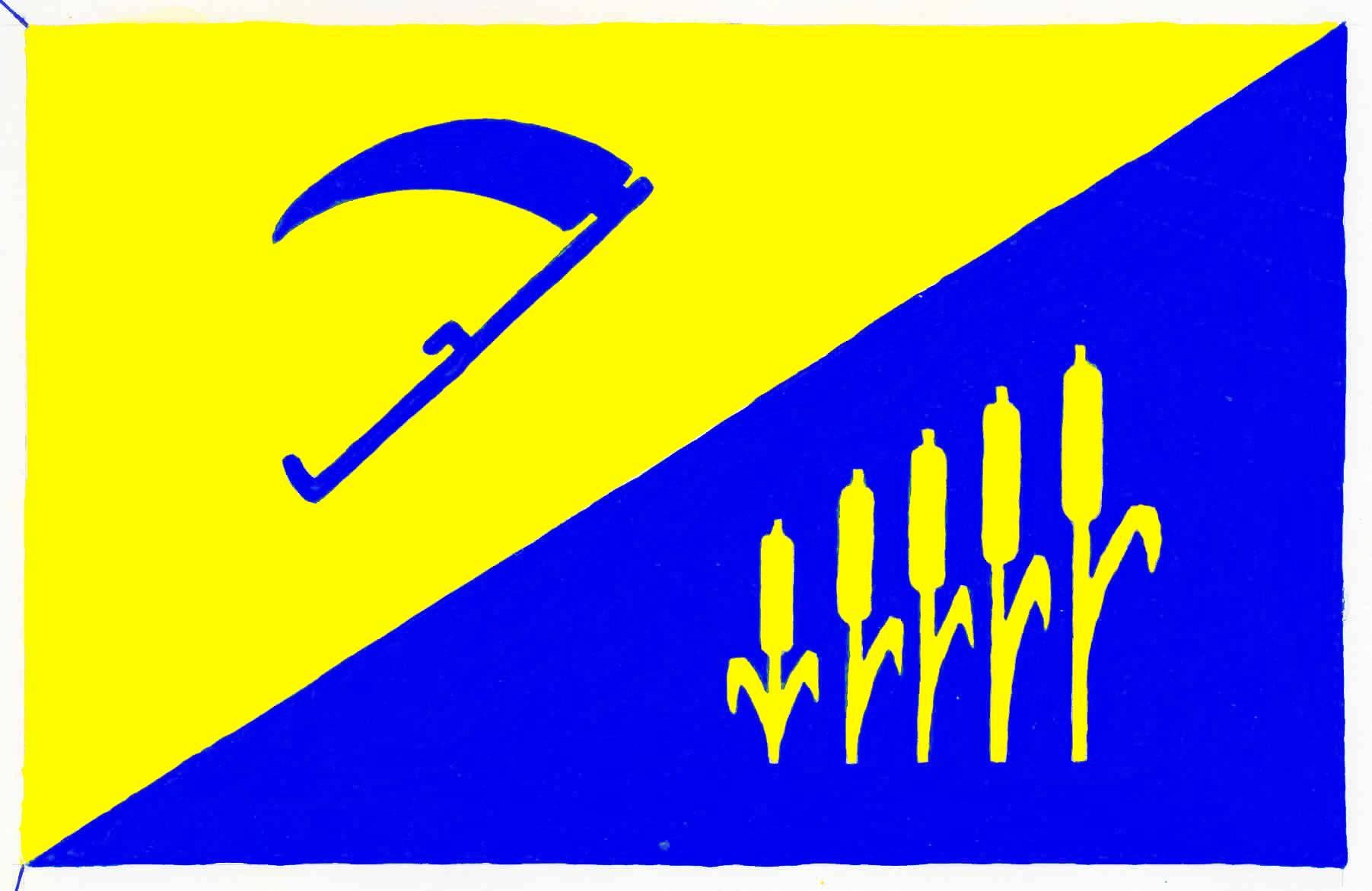 Flagge GemeindeWees, Kreis Schleswig-Flensburg