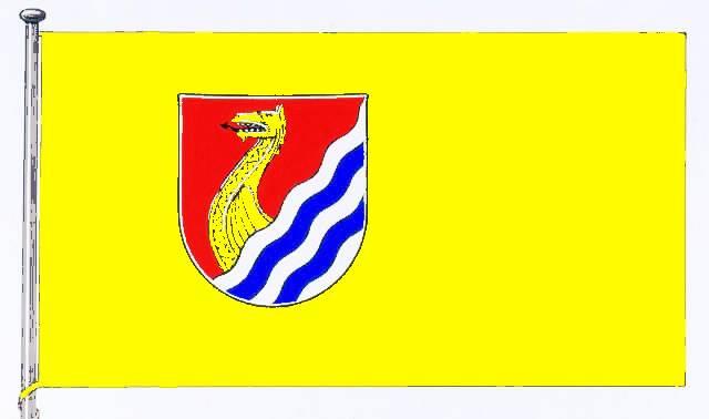 Flagge GemeindeWenningstedt-Braderup, Kreis Nordfriesland