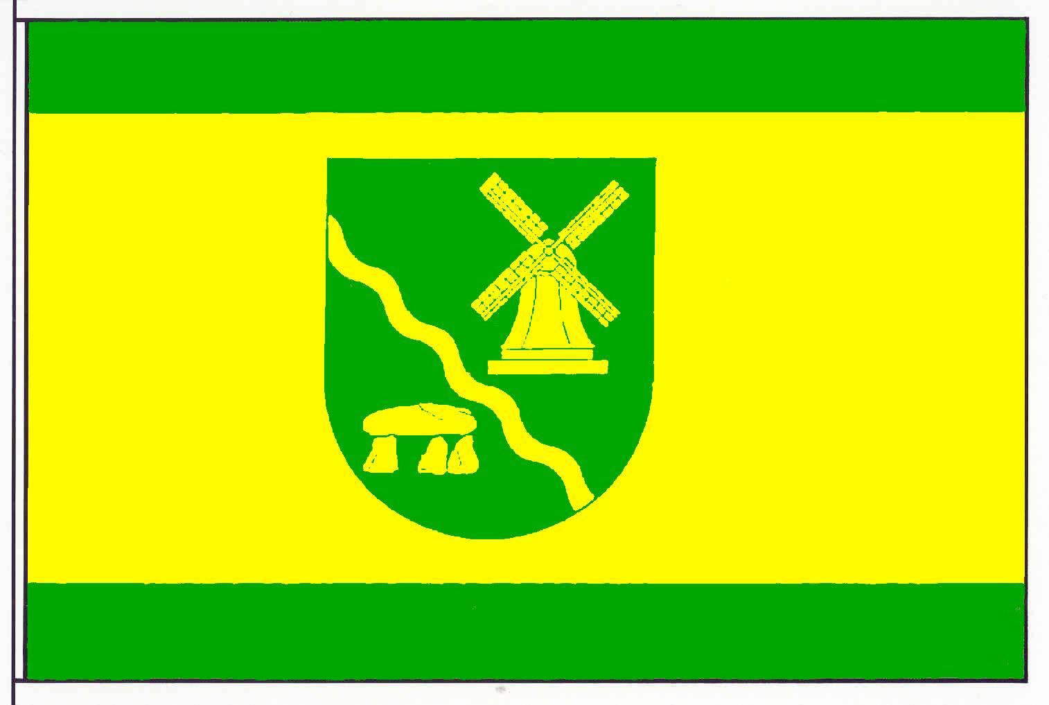 Flagge GemeindeWensin, Kreis Segeberg